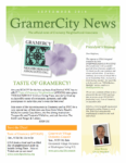 GramerCity News - September 2016